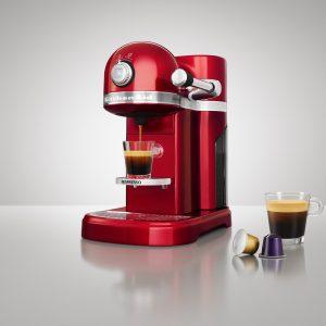 KitchenAid Artisan Nespresso: Design mit Zink trifft Gourmetkaffee